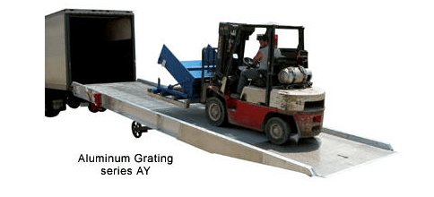 Aluminum Yard Ramps