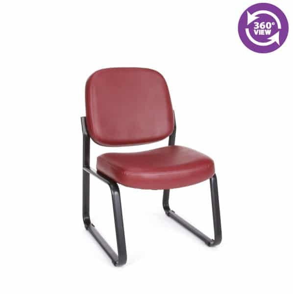 Anti-MicrobialAnti-Bacterial Vinyl GuestReception Chair