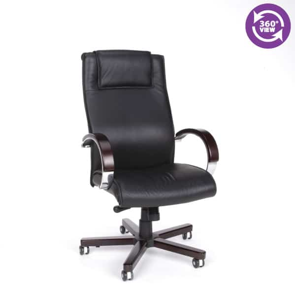 Apex Series Leather Executive High-Back Chair