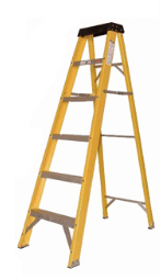 B100 Series Fiberglass Stepladder