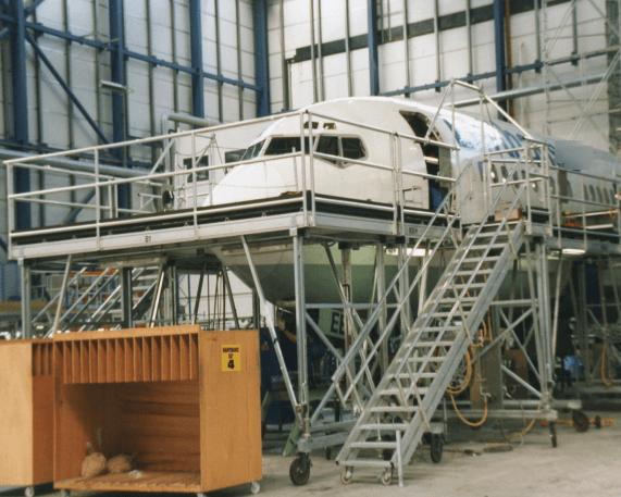 B737 Fuselage Docking System