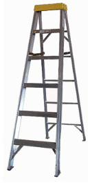 BAS1A Series Aluminum Stepladder