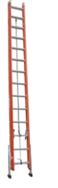 BE1A-AL Series Fiberglass Extension Ladder
