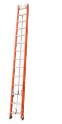 BE1A-E03 Series Fiberglass Extension Ladder