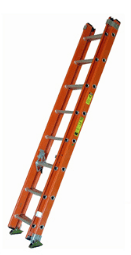 BE1A Series Fiberglass Extension Ladder