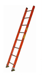 BS1A Series Fiberglass Single Ladder