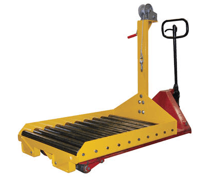 Battery Transfer Cart for use with Pallet Truck