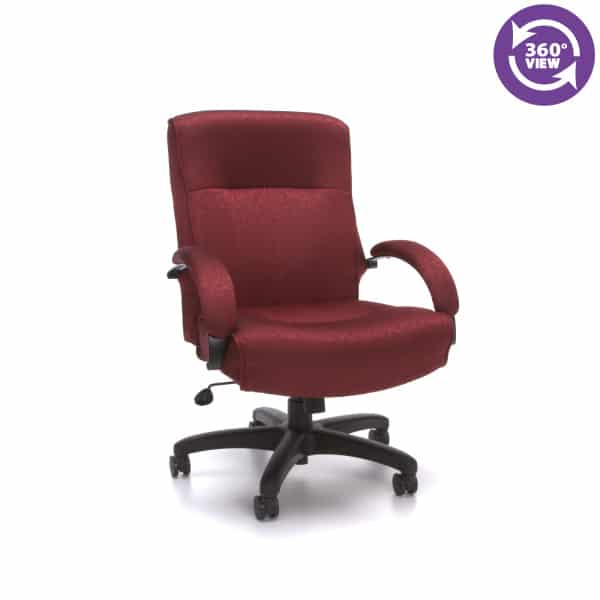 Big & Tall Executive Mid-Back Chair