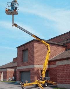 Bil-Jax 4527A Trailer Boom Lift 1