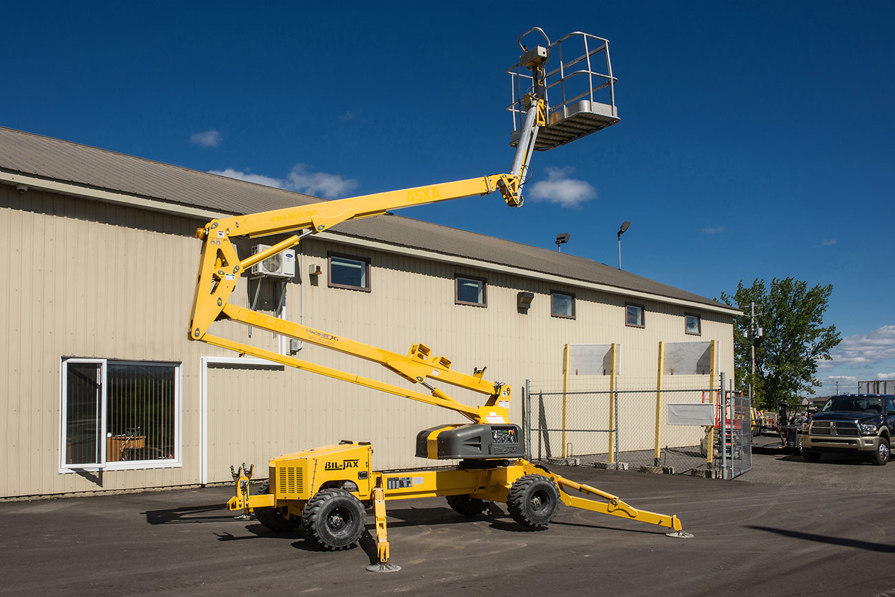 Bil-Jax 45XA Self-Propelled Boom Lift