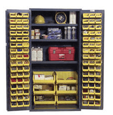 Bin Storage Cabinets 1