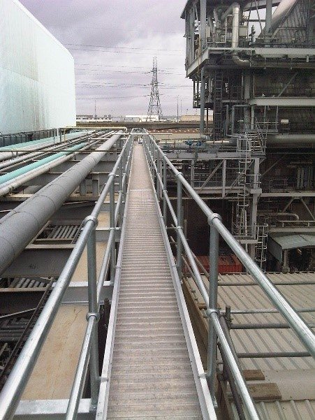 Boiler Access Spandeck System Industrial Man Lifts