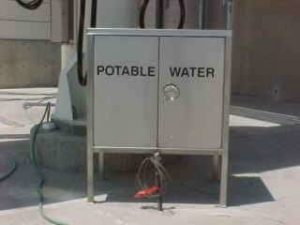 Cabinet Water Cart