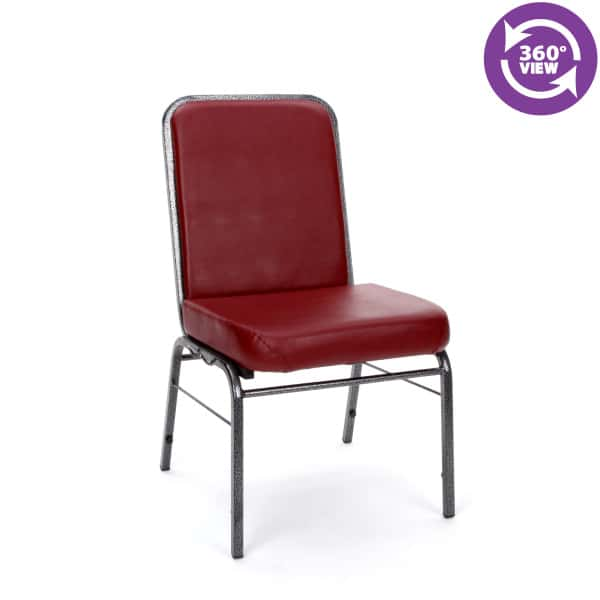 Comfort Class Series Anti-MicrobialAnti-Bacterial Vinyl Stack Chair