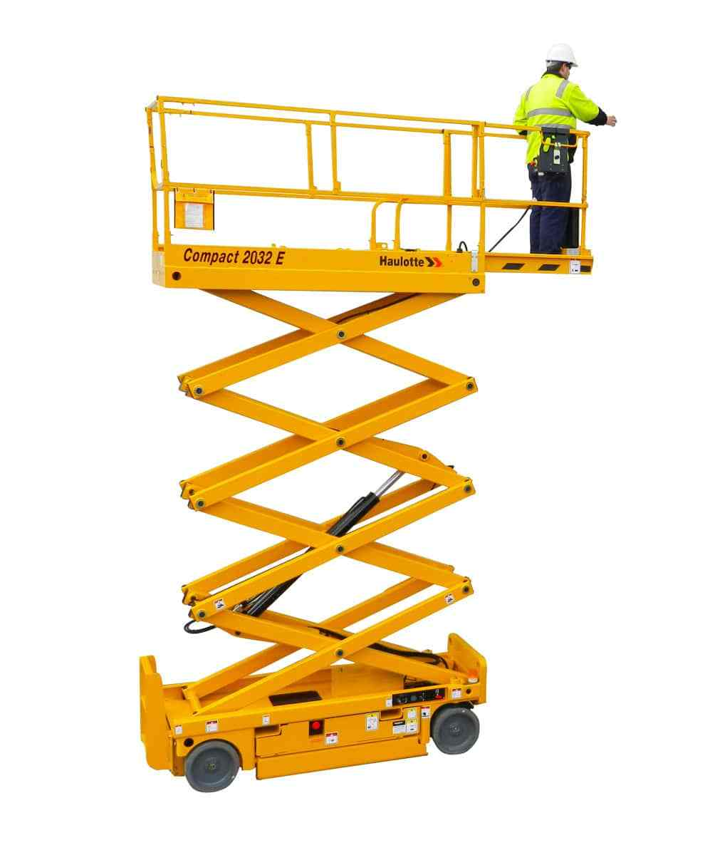 Compact 2047E Electric Scissor Lift