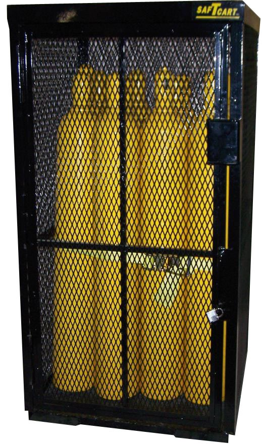 Compressed Gas Security Cage