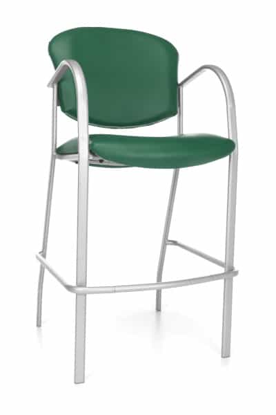 Danbelle Series Cafe Height Vinyl Chair