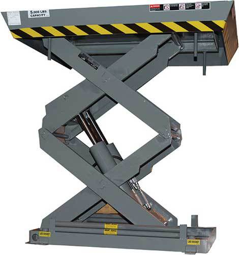 Double Pantograph High Travel Scissor Lift