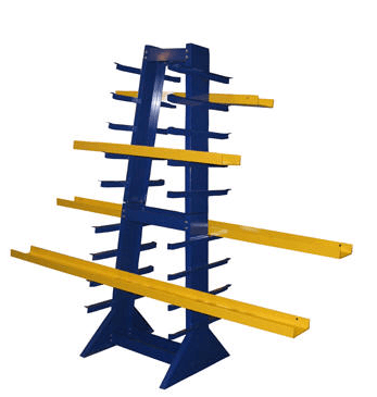 Double Sided Horizontal Bar Rack 1