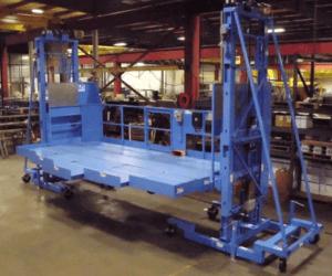 Dual Mast Work Platform