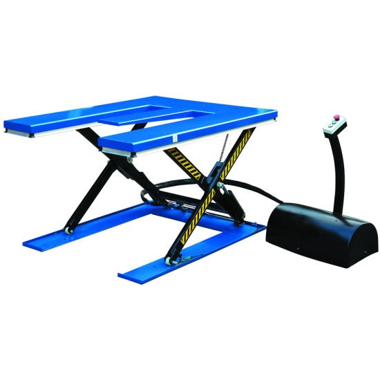 E-Low Profile Scissor Lift Table