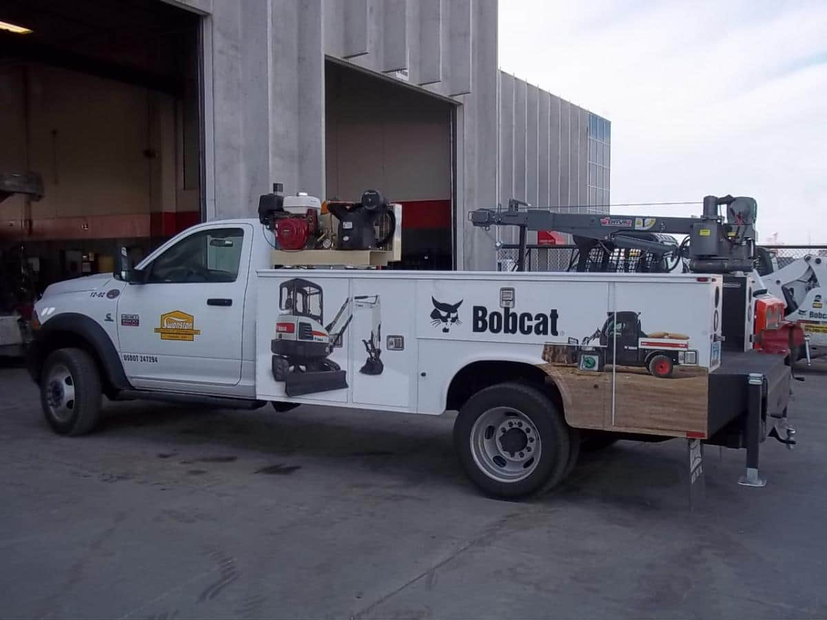 ET12K Truck-Mounted Electric Crane 3500lbs Lifting Capacity
