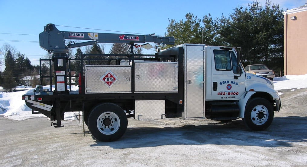 ET25KX Truck-Mounted Electric Crane 5000lbs Lifting Capacity