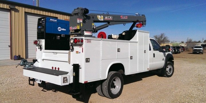 ET36KX Truck-Mounted Electric Crane 6000lbs Lifting Capacity
