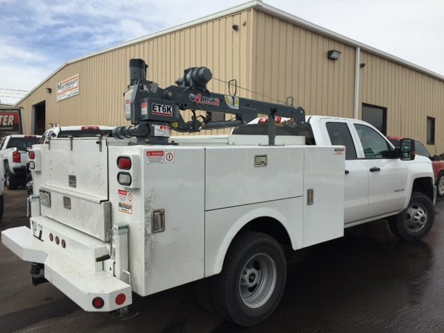 ET6K Truck-Mounted Electric Crane 2000lbs Lifting Capacity