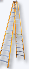 EZ Light Double Front Stepladder