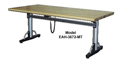 Electric Adjustable Height Work Bench