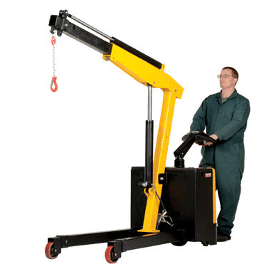 Electric Powered Floor Cranes