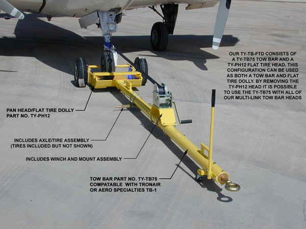 Embraer 190 Fly-Away Towbar
