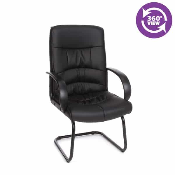 Encore Series Leatherette Guest Chair