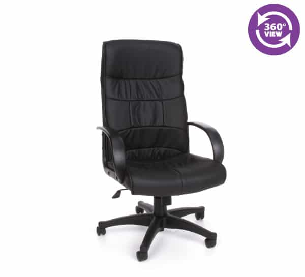 Encore Series Leatherette High-Back Chair