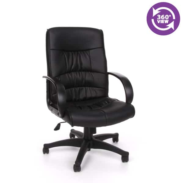 Encore Series Leatherette Mid-Back Chair