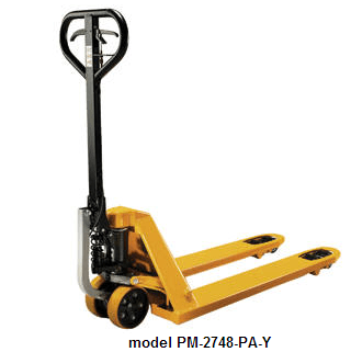 Ergonomic Power Assist Pallet Truck