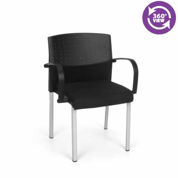 Europa Stack Chair with Arms