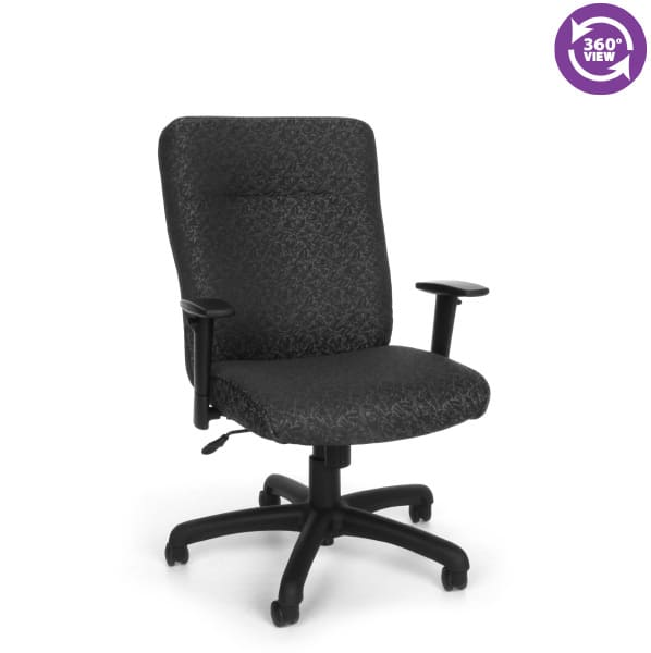 ExecutiveConference Chair with Adjustable Arms