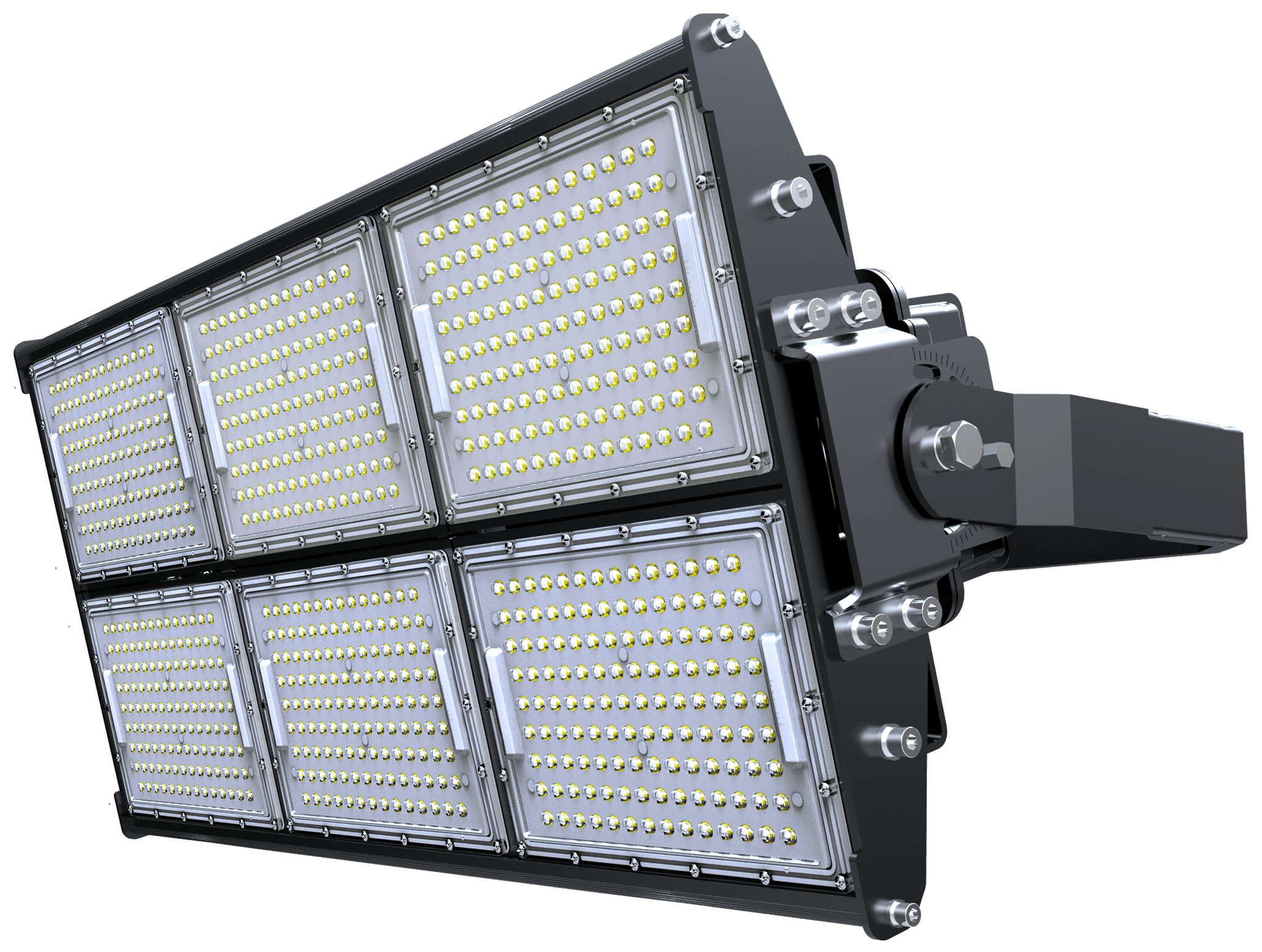 LED Stadium Light 720W, Super Bright Outdoor Flood Light, IP65 Waterproof