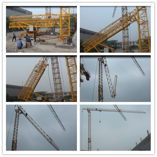 Fast Assemble Tower Crane IMLTC20