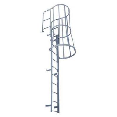 Fixed Ladder with Safety Cage – F24WC C1 – Pre-Owned Never Used