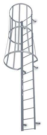 Fixed Ladder with Safety Cage – M13SC C1