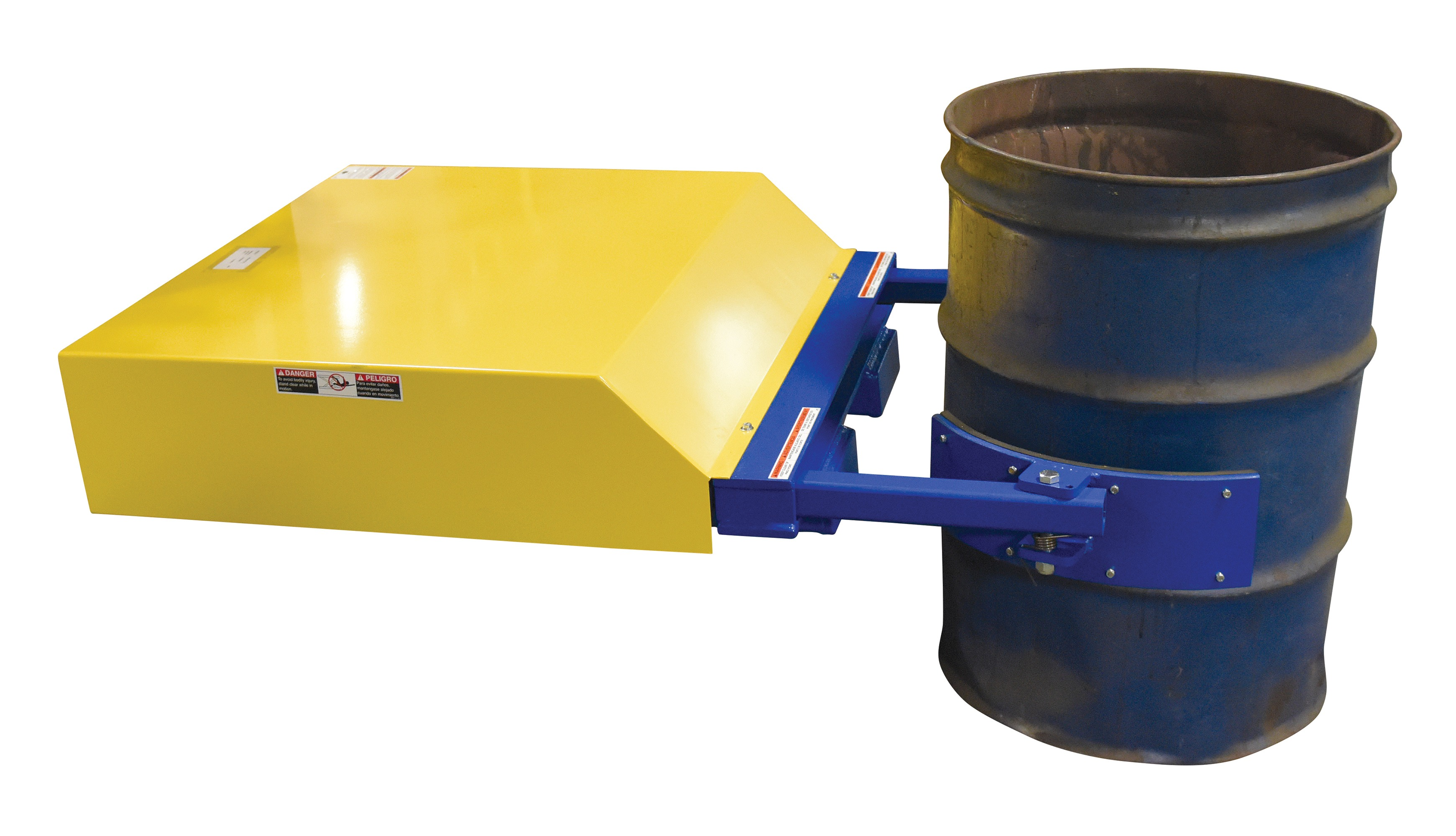 Fork Mounted Hydraulic Drum Grippers