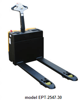 Fully Powered Electric Pallet Trucks with Lead Acid Batteries