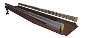 Galvanized Guard Rail Option
