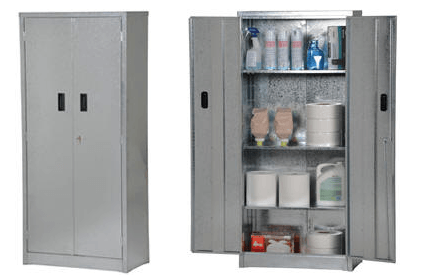 Galvanized Storage Cabinets 1