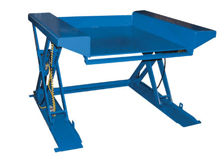 Ground Lift Scissor Table