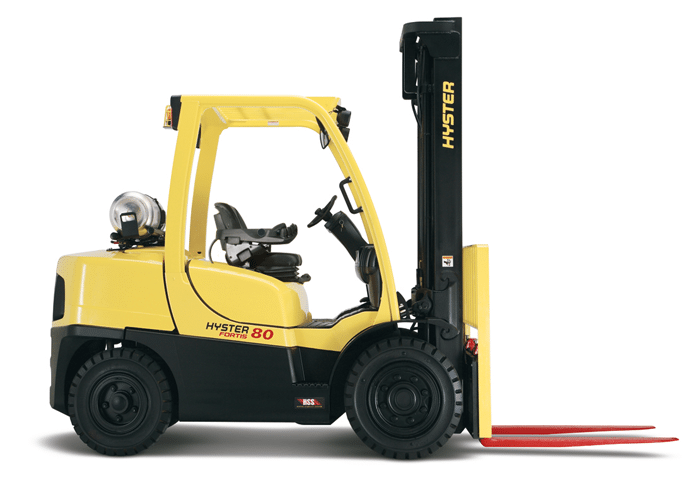 H80-120FT Pneumatic Tire Lift Truck