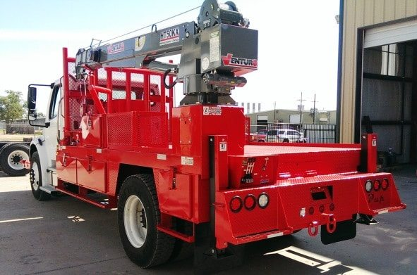HT50KX-25 Truck-Mounted Crane 8000lbs Lifting Capacity